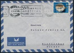 Greece Griechenland Airmail Cover Weizen Wheat °BL0995 - Landwirtschaft