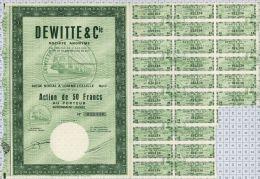 Dewitte Et Cie à Lomme Lez Lille, K De 2 240 000 Frs - Chemin De Fer & Tramway