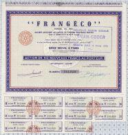 Frangéco, Nouvelle Dénomination Titan Coder, K 7 993 000 Frs - Chemin De Fer & Tramway