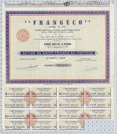 Frangéco, Nouvelle Dénomination Titan Coder, K 647 435 000 Frs - Chemin De Fer & Tramway