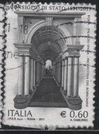 21147  Italia 2011  180° Consiglio Di Stato  € 0.60 Usato - 2011-...: Usati