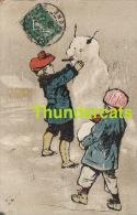 CPA ILLUSTRATEUR DESSIN ENFANT ENFANTS ** ARTIST DRAWN CARD CHILD CHILDREN ** KINDERKAART KIND - Children's Drawings