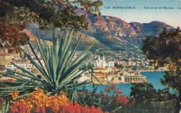 C1900 MONTECARLO VUE PRISE DE MONACO - Monte-Carlo