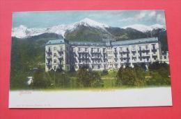 . Merano - Meran - Ca. 1900 - Italia --- Hotel , Italy Italie Italien --- 14 - Merano