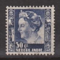 Nederlands Indie Netherlands Indies Dutch Indies 200 Used ; Koningin, Queen, Reine, Reina Wilhelmina 1934-1937 - Niederländisch-Indien