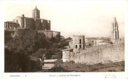 POSTAL DE GERONA DESDE EL CAMINO DE MONTJUICH (C. MAURI) - Gerona
