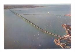 France, Poitou Charente, Charente Maritime 17, Ile D'Oléron, Viaduc De Liaison Oléron Continent Vu Du Ciel - Ile D'Oléron