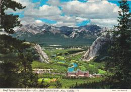 Banff Springs Hotel Banff National Park Alberta Canada