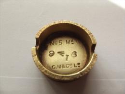 Lot De 5 Bouchons De Grenade Mills 1914/1918 Anglaise - 1914-18