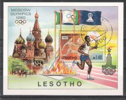 Lesotho Y/T Blok 5 (0) - Lesotho (1966-...)