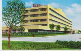 ETATS UNIS BATON ROUGE MAIN OFFICE BUILDING ESSO STD OIL COMPANY BELLE CARTE RARE !!! - Baton Rouge