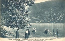 73 - Bords Du Lac D´Aiguebelette - SAINT-ALBAN-DE-MONTBEL - Savoie - Luzara Plage - La Chaine Du Mont D´Epine - Autres Communes