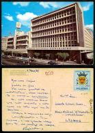 PORTUGAL COR 27819  - MOÇAMBIQUE MOZAMBIQUE - LOURENÇ0 MARQUES BANCO NACIONAL ULTRAMARINO OLD CARS AUTOMOBILES VOITURES - Mozambique
