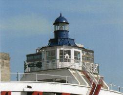 Postcard - Newcastle Swing Bridge Lighthouse, Tyne & Wear. SMH08 - Lighthouses