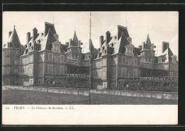 CPA Stéréoscopique Vichy, Le Château De Randan - Cartes Stéréoscopiques