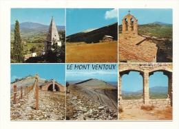 Cp, 84, Le Mont-Ventoux Et Le Crestet, Panorama Circulaire Le Plus étendu D'Europe Et Les Environs, écrite - Ohne Zuordnung
