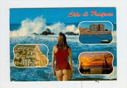LIDO DI POMPOSA,vedute Con PIN-UP-1988 - Ravenna
