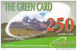 Kenya, KSh 250, The Green Card, Expiry : 13/10/2008. - Kenya