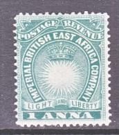 British East Africa  Company  15   * - Kenya, Uganda & Tanganyika