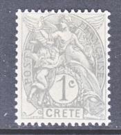 French  Office  In CRETE  1a   * - Crete (1902-1903)