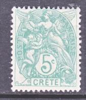 French  Office  In CRETE  5   * - Crete (1902-1903)