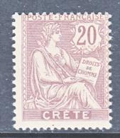 French  Office  In CRETE  8   * - Crete (1902-1903)