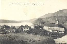 73 - AIGUEBELETTE - Savoie - Quartier De L'Eglise Et Le Lac - Autres Communes