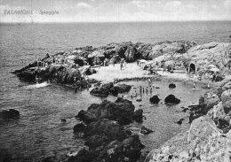 [DC6815] TALAMONE (GROSSETO) - SPIAGGIA - Viaggiata 1950 - Old Postcard - Grosseto