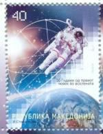 MK 2011-583 50A°GAGARIN FLY IN SPACE, MACEDONIA, 1 X 1v, MNH - Macedonië