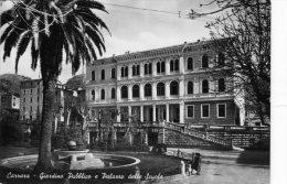 Carrara. Giardino Pubblico E Palazzo Delle Scuole - Carrara