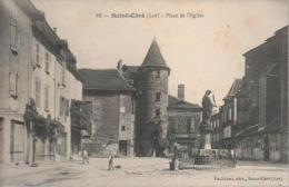 SAINT - CERE - PLACE DE L'EGLISE - Other Municipalities