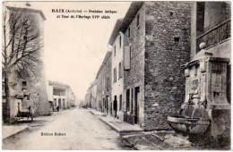 Baix - Fontaine Antique Et Tour De L'Horloge ... - France
