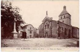 Saint-Félicien - La Place De L'église - France