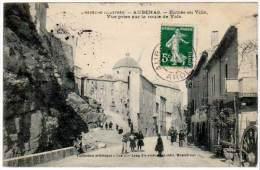 Aubenas - Entrée De La Ville, Vue Prise Sur La Route De Vals - Aubenas