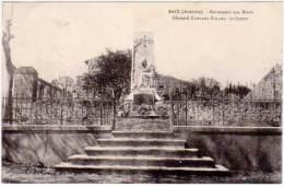 Baix - Monument Aux Morts ... - France