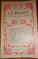 Le Bugey N°47 - 1960 Histoire Ain  Régionalisme 01 Briord Pays Yennois Pierre-Châtel - Rhône-Alpes