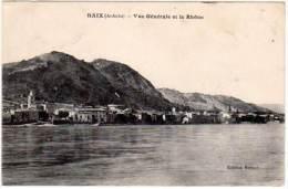 Baix - Vue Générale Et Le Rhône - France