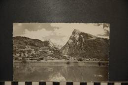 CP, 74, Samoens Vue Generale Avec Le Criou Les Dents Blanches Et Le Mont Tuet Le Lac Des Dames - Samoëns