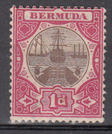 Bermuda    Scott No. 29   Unused Hinged     Year  1902 - Bermuda