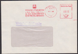"DDR AFS Freital ""VEB Edelstahlwerk 8.Mai 1945 Im VEB Rohrkombinat"" 1986 Wirtschaftsdrucksache - Lettere"