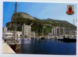 GIBRALTAR Close Up View From Marina - Gibraltar