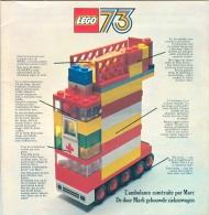 LEGO 73 - L´AMBULANCE CONSTRUITE PAR MARC - LEGO DUPLO - LEGOLAND - Catalogue Et à La Fois Livre D´idées - Année 1973 - Catalogs