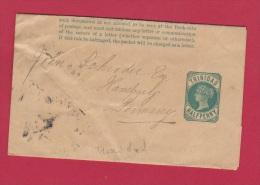 TRINIDAD // Entier Postal  //  Half Penny Vert //  Pour Hamburg - Trinité & Tobago (...-1961)