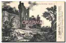 Chevreuse CPA Le Chateau De La Madeleine Par J G Wille Par Weisbrod - France
