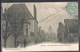 BOYNES . Rue Principale Et Porte De Barville . - Autres Communes