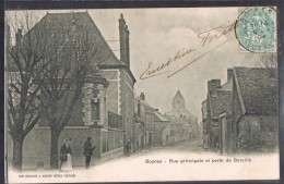 BOYNES . Rue Principale Et Porte De Barville . - Andere Gemeenten