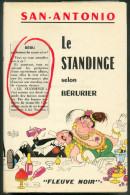 No PAYPAL !! : SAN-ANTONIO ( F. Dard ) Le Standinge Selon Bérurier (+ Jaquette Dubout ) ,ÉO Fleuve Noir ©.1965 TTBE/NEUF - San Antonio