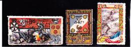 LOT DE 3 VIGNETTES DE REGIEMENTS DIVERS -  1914-18 - Commemorative Labels