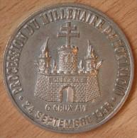 France 25 Ecu De Bonifacio 1995 En Argent - Euros Des Villes