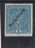 1919 DEUTSCHÖSTERREICH 2 KRONEN GZ 11,5 ** - 1850-1918 Empire